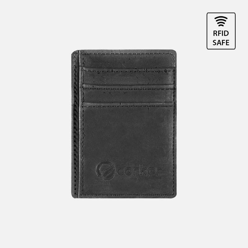 Corkor Vegan Cork Minimalist Card Wallet