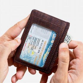 Corkor Vegan Cork RFID Safe Card Wallet