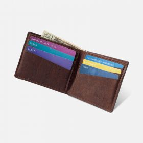 Corkor Vegan Cork Bifold Slim Wallet for Men