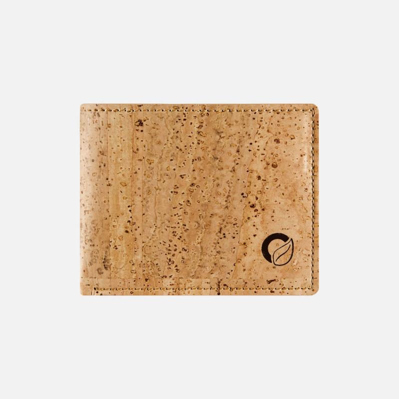 Corkor Vegan Cork Slim Bifold Wallet