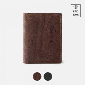 Corkor Vegan Cork Bifold Minimalist Wallet