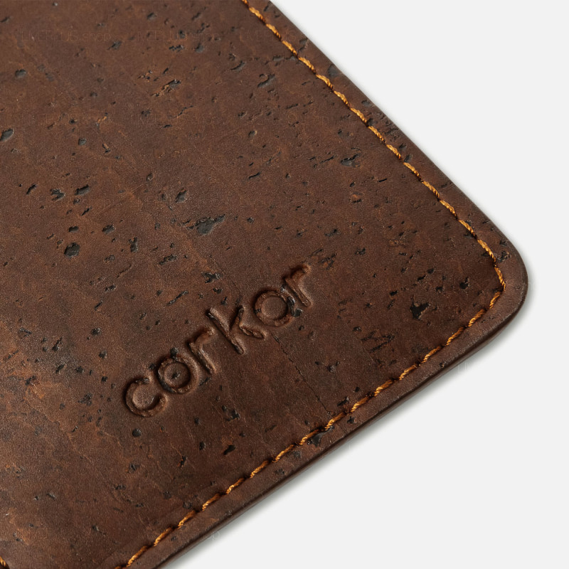 Corkor Vegan Cork Card Sleeve Wallet