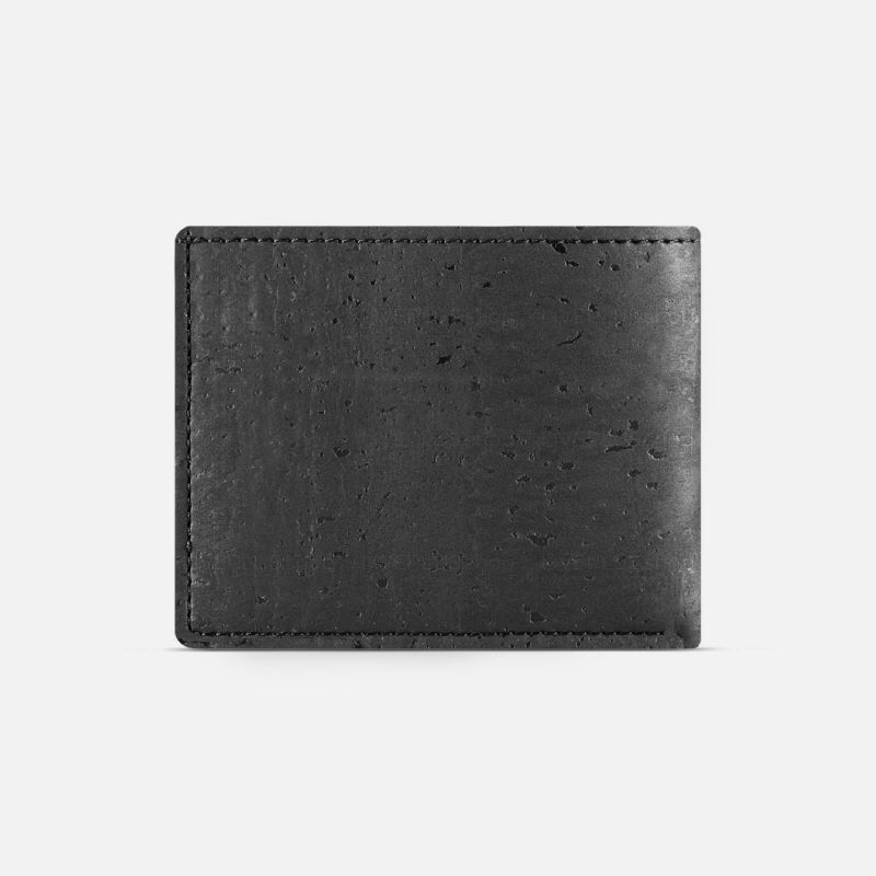 Corkor Vegan Cork Men's Bifold Wallet with Coin Pocket