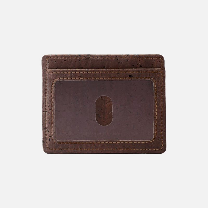 Corkor Vegan Cork Card Case Wallet