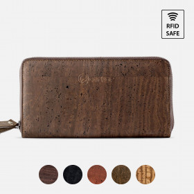 Corkor Vegan Cork Women's Long Wallet