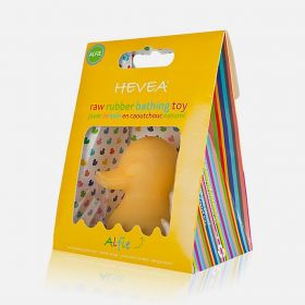 Hevea Alfie King Size Raw Natural Rubber Duck