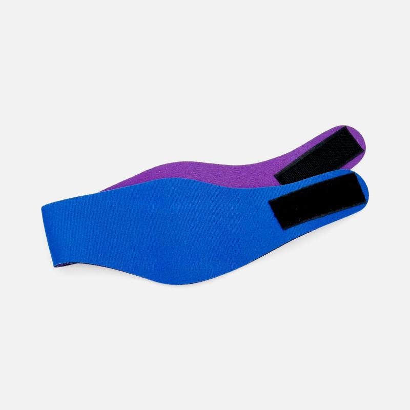 Mack's Ear Band Swimming Headband with Silicone Putty Earplugs