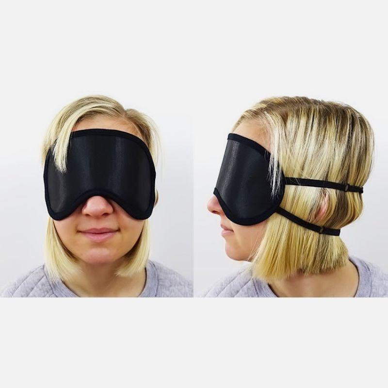 Mack's Shut-Eye Shade Premium Sleep Mask with Soft Foam Earplugs
