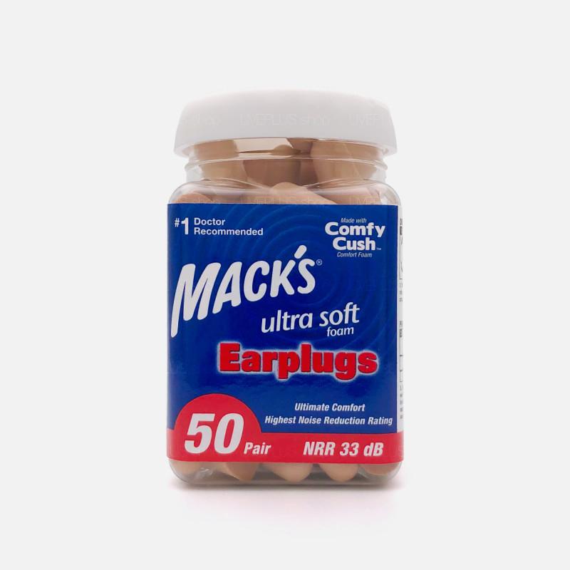 Mack's Ultra Soft Foam Earplugs, 50 Pair