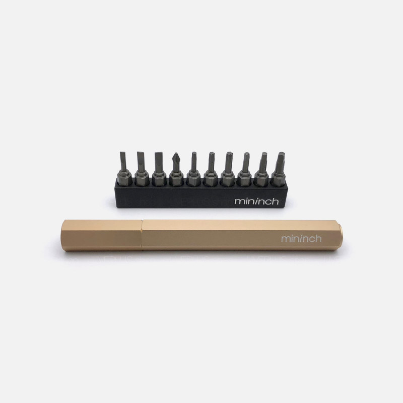 Mininch Tool Pen Premium Edition, Metric, 16 Bits