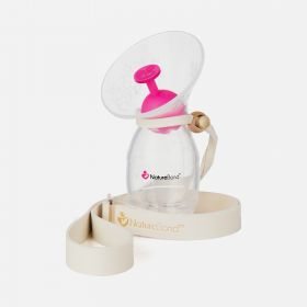 NatureBond Silicone Breast Pump with Pump Stopper and Strap