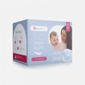 NatureBond Ultra Thin Disposable Nursing Breast Pads, 120 Pads