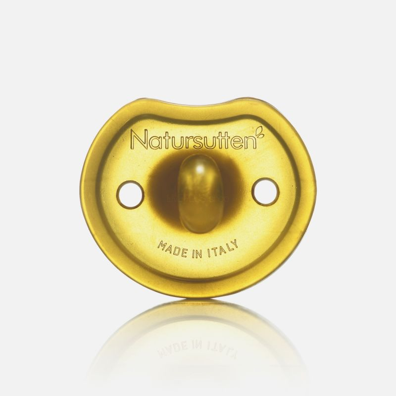 Natursutten Butterfly Rounded Natural Pacifier, M (6-12 Months)