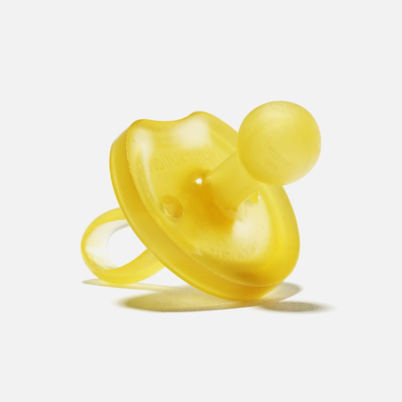 Natursutten Butterfly Rounded Natural Pacifier, L (12 Months Up)