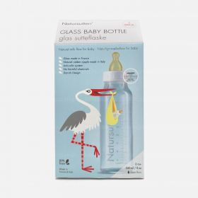 Natursutten Glass Baby Bottle 240 ml, 2 Pack