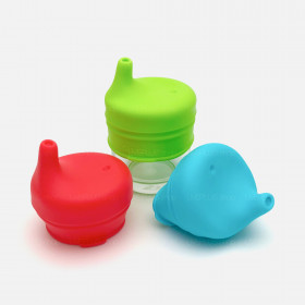SipSnap TOT Universal Silicone Sippy Lids